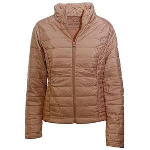 Mauve Packable Puffer Coat Storage Pouch - Women S